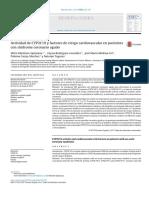 Actividad de CYP2C19 y factores de riesgo cardiovascular en pacientes con síndrome coronario agudo