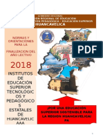 Directiva Fin de Año 2018