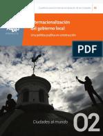 Internacionalización del gobierno local. Una política pública en construcción..pdf