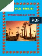Cărți Din Biblie - Evanghelia lui Matei 40
