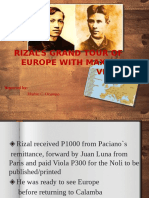Rizal's Grand Tour of Europe with Viola