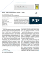 Recent advances in neuro-fuzzy system A survey