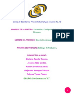Catálogo ENSAMBLE