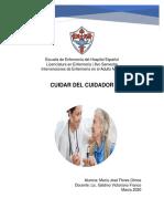 Ensayo Cuidador - María José Flores Olmos
