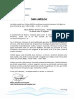 COMUNICADO 20201