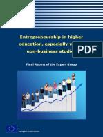 Entrepreneurship in higher education, especially within non-business studies