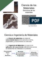Ciencia de los Materiales (Estructura de los Materiales)