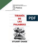 Tiranía de las Palabras (español hasta Cap X)