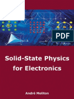 Solid State Physics for Electronics