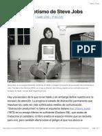 El falso ascetismo de Steve Jobs | EL PAÍS Semanal