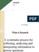 Health research development