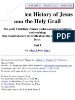 The Hidden History of Jesus and the Holy Grail