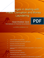 Challenges of Fraud Corruption Money Laundering-SSZ-Final