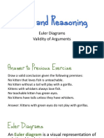 Logic and Reasoning - Euler diagrams and validity of arguments(1)