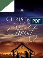 Christmas Begins Booklet