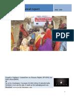 Annual Report of JMN/PVCHR (2018-19)