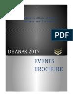 Dhanak Event Descriptions2017