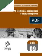Aula 09 - AS tendências pedagógicas e seus pressupostos.pdf