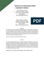 Pros y Contras Humanos-robots