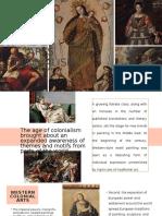 ARTS COLONIALISM