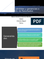Estado de pérdidas y ganancias - Contabilidad Financiera