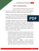 Módulo 3. Comunicación y transparencia