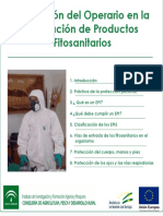 Equipos de Protección Del Operario en La Aplicación de Producots Fitosanitarios