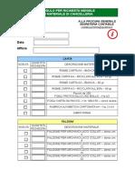 Modulo per richiesta materiale di cancelleria