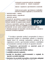 Prelegere ORGANIZAREA APROVIZIONĂRII CU MATERIALE MEDICALE in dezastre.pptx