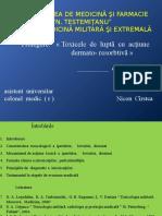 Prelegere  Toxicele de luptă cu acțiune  dermato-rezorbtivă - Copy.pptx