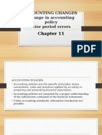 CHAPTER 11 - Changes in Accounting Policy, Prior Period Errors (1)