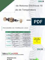 10 Diagnóstico de Motores Eléctricos - Medição de Temperatura