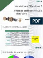 05 Diagnóstico de Motores Eléctricos - Tipos de Anomalias Elétricas e suas Vibrações