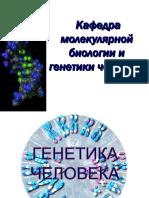 1. Введение в ГЧ. Хромосомы