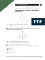 Ficha de Trabalho 06 - 10 Ano - Geometria Analitica