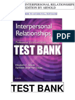 Interpersonal Relationships 8th Arnold Test Bank