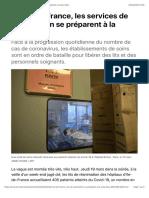 En Ile-de-France, les services de réanimation se préparent à la saturation
