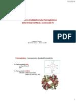 Semnificatia fiziopatologica a evaluarii Hb Fe modificat