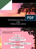 01. Pengantar EPISTEMOLOGI KEILMUAN