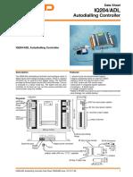 IQ204_ADL Autodialling Controller Data Sheet - Trend