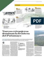 Narcos extranjeros dominan la frontera del Putumayo
