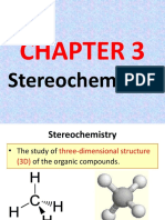 3) STEREOCHEMISTRY