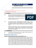 BUENOS DÍAS INICIO CAMPAÑA DE CUARESMA 2020