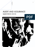 Audit and Assurance Question and Answers Bank