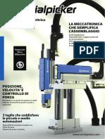 Serialpicker Il Pick and Place Elettrico Con Motori Lineari