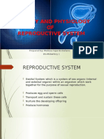 Anatomy and Physiology of Reproductive System