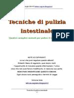 (Ebook ITA) 4 tecniche per la pulizia dell intestino (sali epsom ozovit clistere colema caffè argilla enteroclisma colon flora batterica)