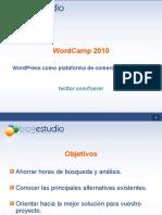 WordPress como plataforma de comercio electrónico
