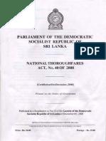 RDA act-National Thoroughfares Act, No. 40 of 2008.pdf