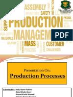 Production Management PPT